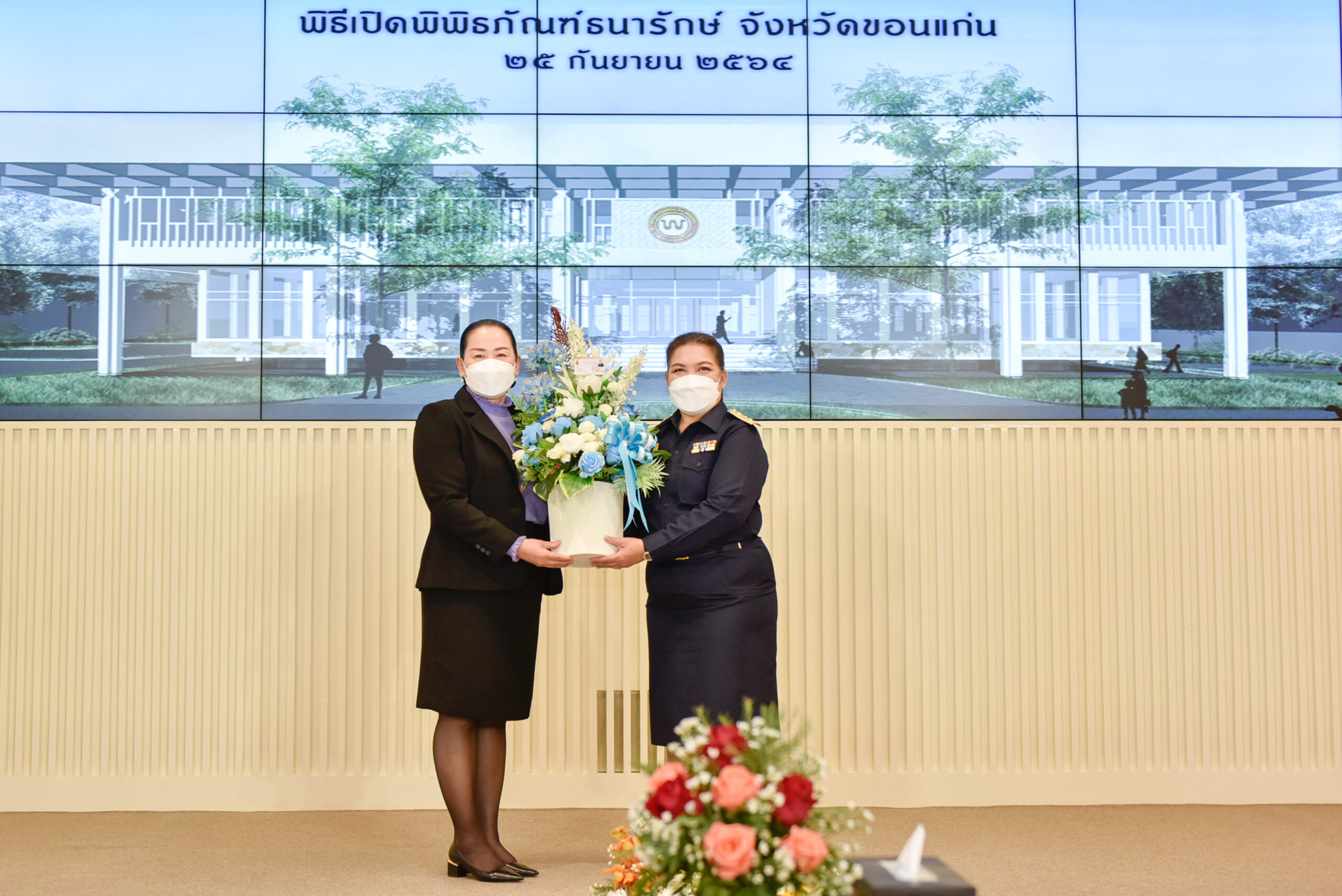 มข.ร่วมแสดงความยินดี พิธีเปิดพิพิธภัณฑ์ธนารักษ์ จ.ขอนแก่น แหล่งเรียนรู้เงินตราไทย